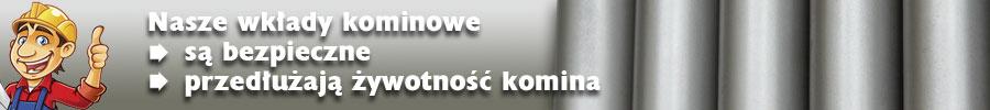 Ekokomin wkłady kominowe Poznań, Wielkopolska